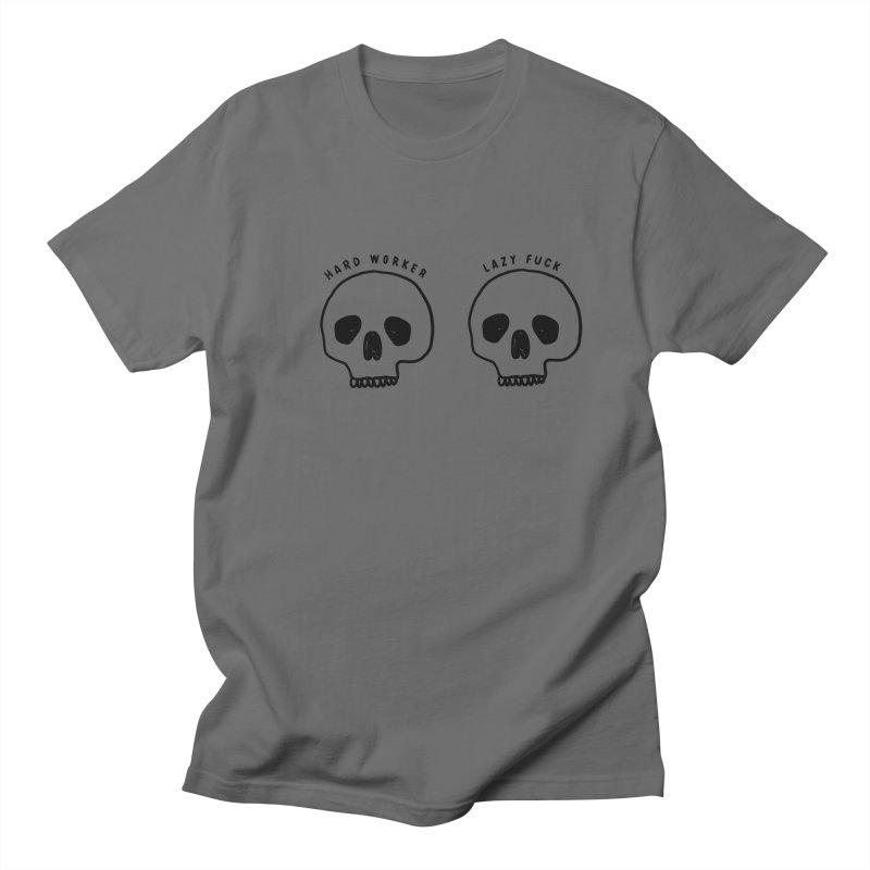 Hard Work Pays Off Men's T-Shirt by Shirt Folk