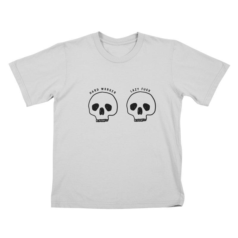 Hard Work Pays Off Kids T-Shirt by Shirt Folk