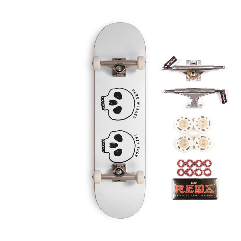 Hard Work Pays Off Accessories Complete - Pro Skateboard by Shirt Folk