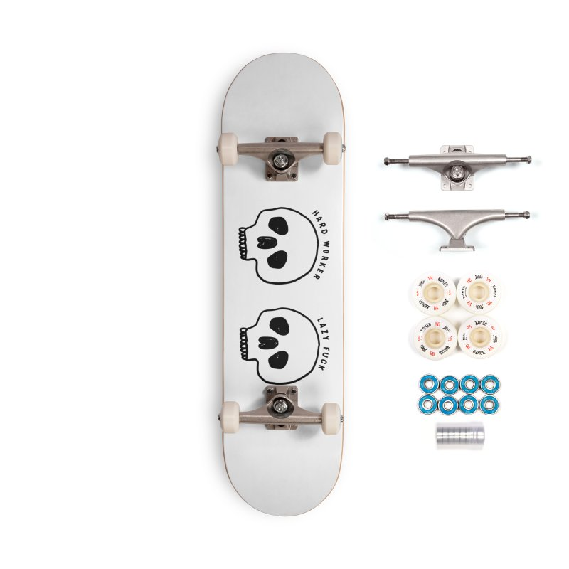 Hard Work Pays Off Accessories Complete - Premium Skateboard by Shirt Folk