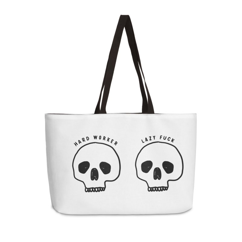 Hard Work Pays Off Accessories Weekender Bag Bag by Shirt Folk