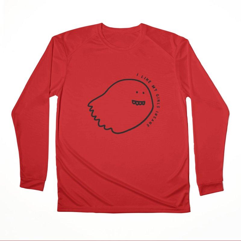 Ghostly Men's Performance Longsleeve T-Shirt by Shirt Folk