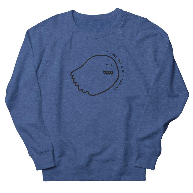 Ghostly Women's French Terry Sweatshirt by Shirt Folk