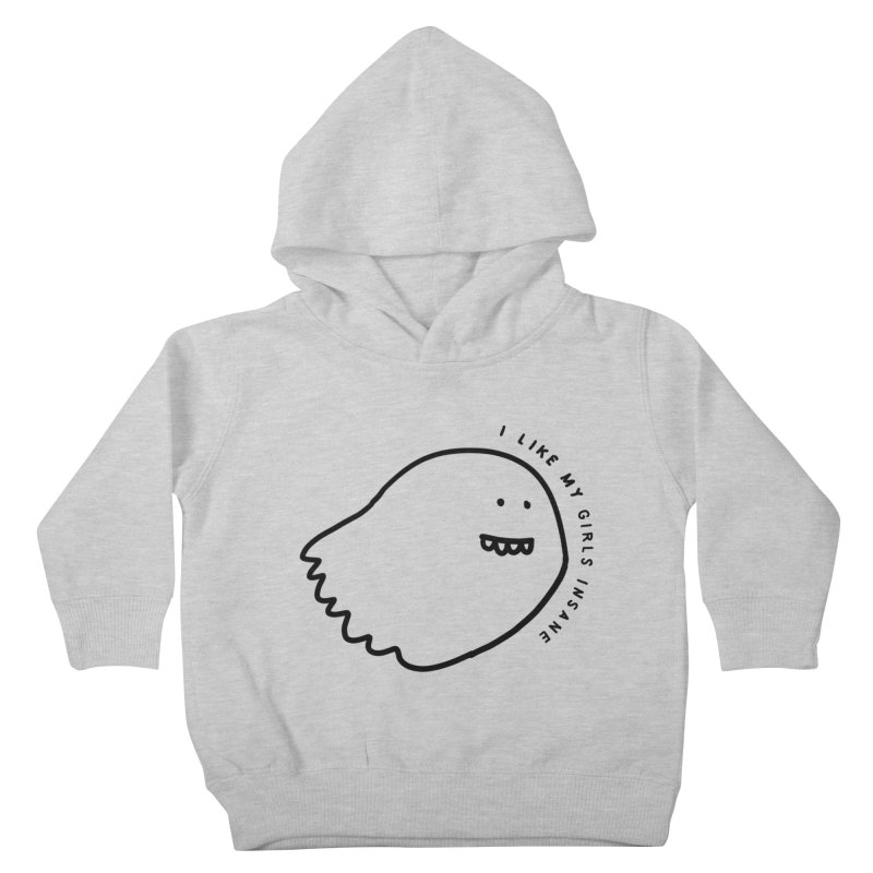 Ghostly Kids Toddler Pullover Hoody by Shirt Folk