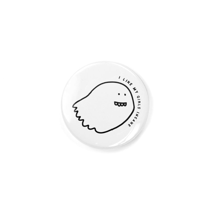 Ghostly Accessories Button by Shirt Folk