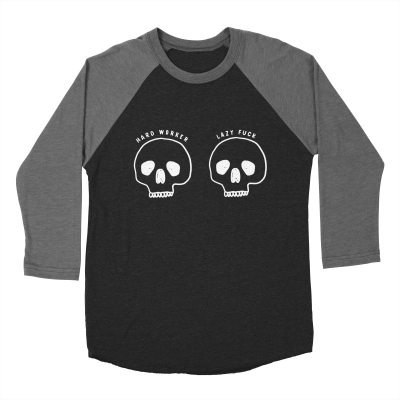 Hard Work Pays Off: Lights Out Edition Women's Baseball Triblend Longsleeve T-Shirt by Shirt Folk