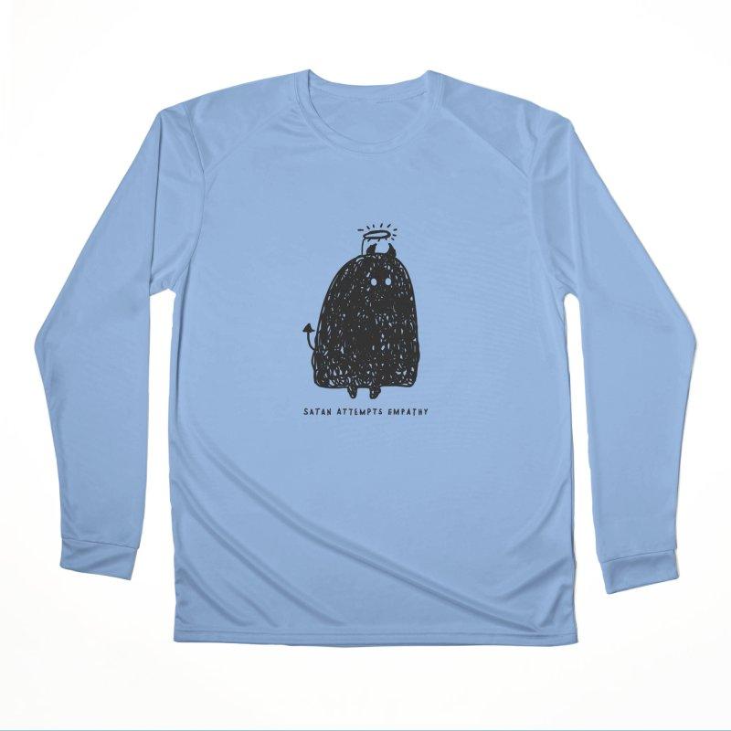 Satan Attempts Empathy Women's Performance Unisex Longsleeve T-Shirt by Shirt Folk