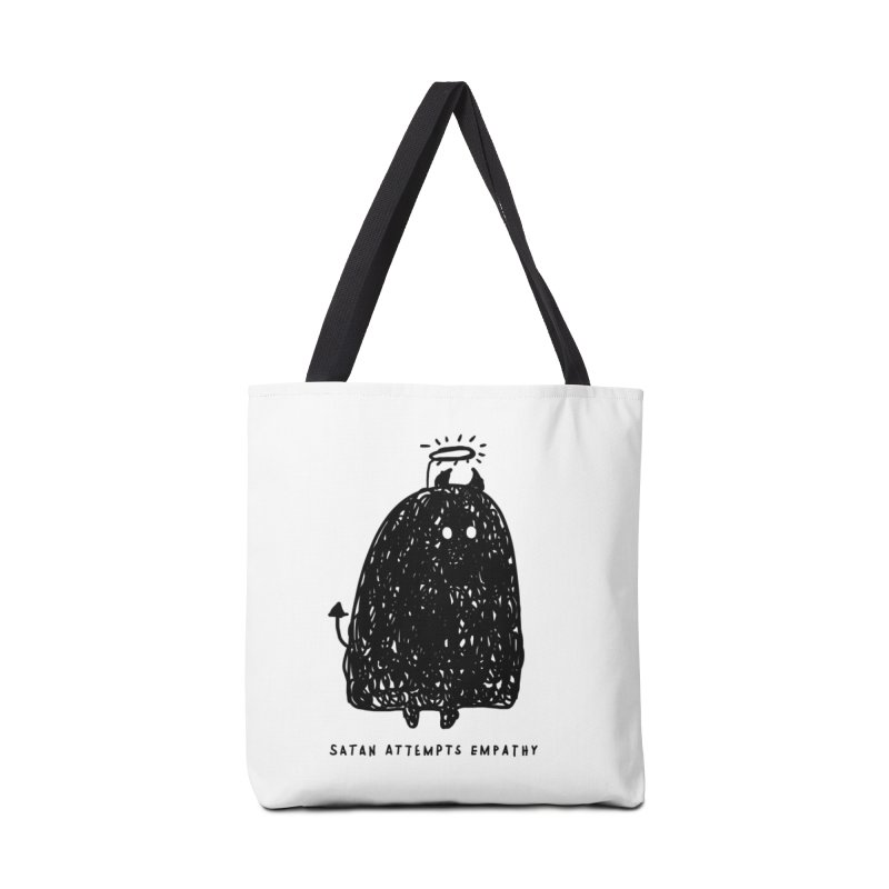 Satan Attempts Empathy Accessories Tote Bag Bag by Shirt Folk