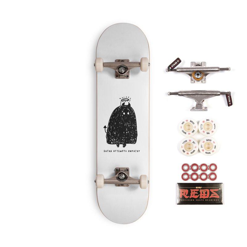 Satan Attempts Empathy Accessories Complete - Pro Skateboard by Shirt Folk