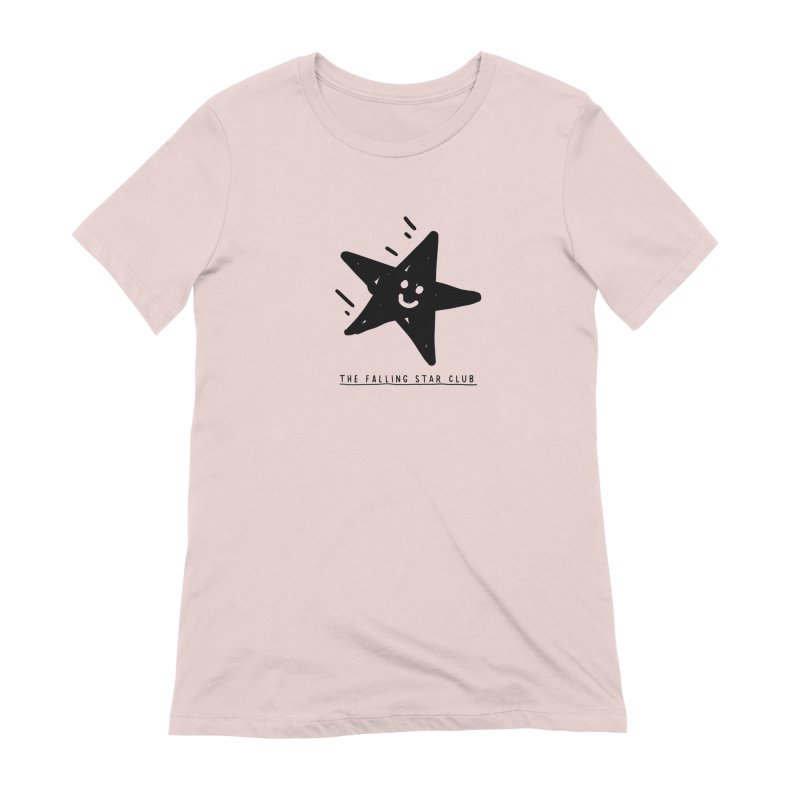 The Falling Star Club Women's Extra Soft T-Shirt by Shirt Folk