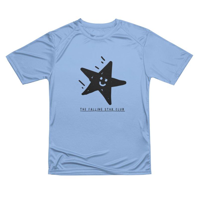 The Falling Star Club Men's Performance T-Shirt by Shirt Folk