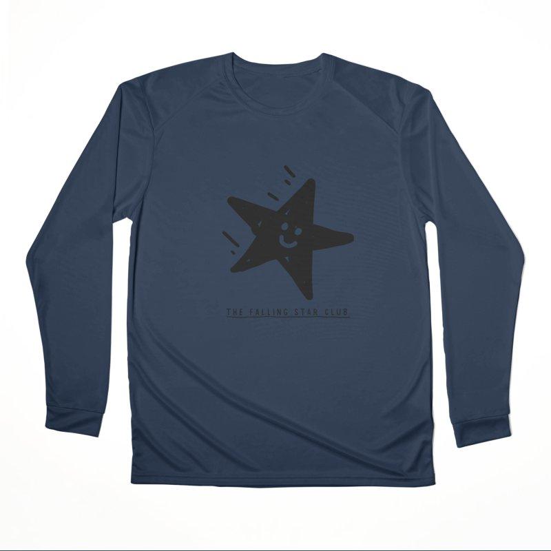 The Falling Star Club Men's Performance Longsleeve T-Shirt by Shirt Folk
