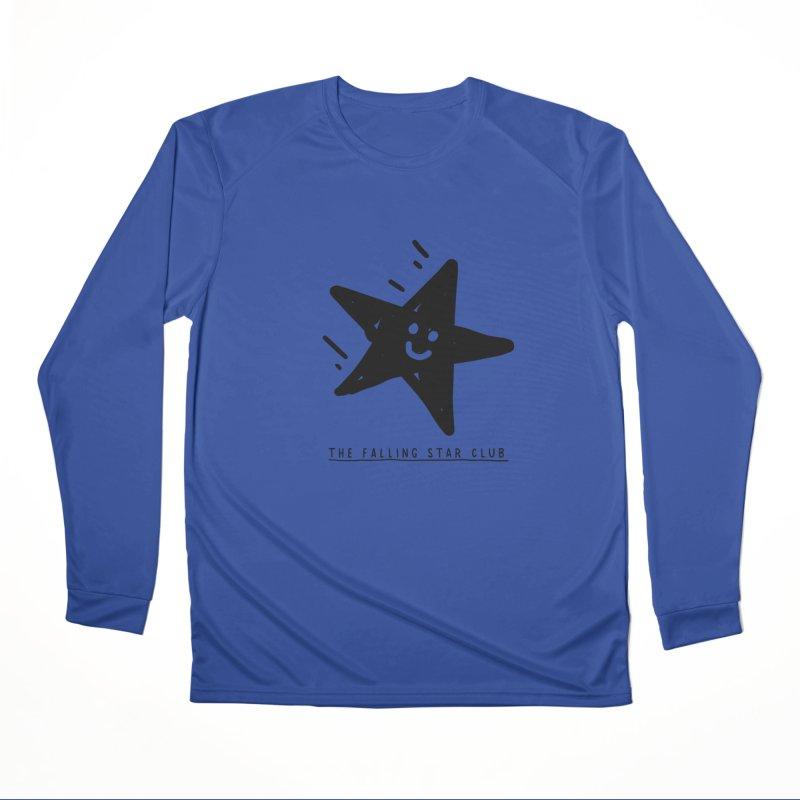 The Falling Star Club Women's Performance Unisex Longsleeve T-Shirt by Shirt Folk