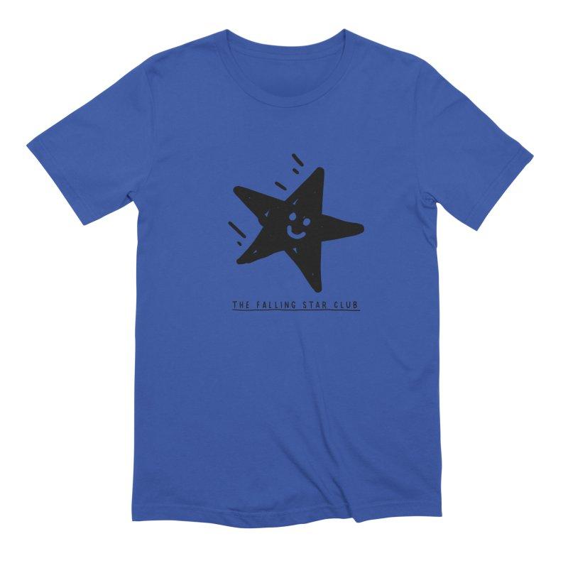 The Falling Star Club Men's Extra Soft T-Shirt by Shirt Folk