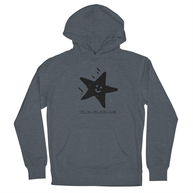 The Falling Star Club Women's French Terry Pullover Hoody by Shirt Folk