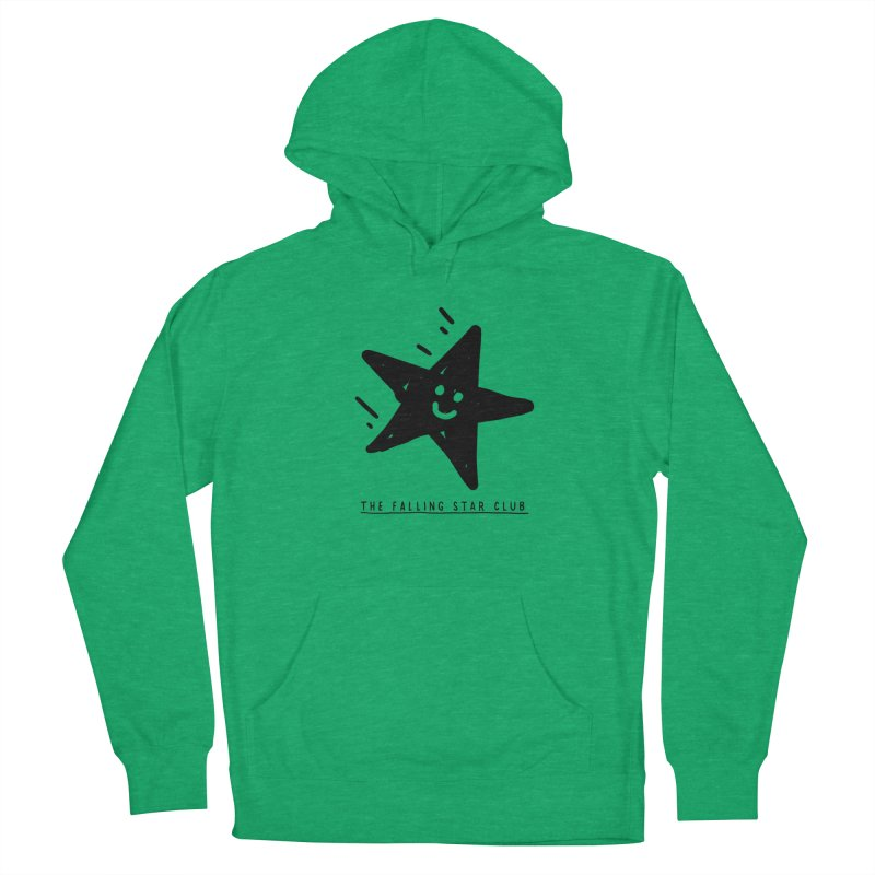 The Falling Star Club Men's French Terry Pullover Hoody by Shirt Folk