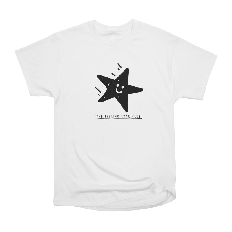 The Falling Star Club Men's Heavyweight T-Shirt by Shirt Folk