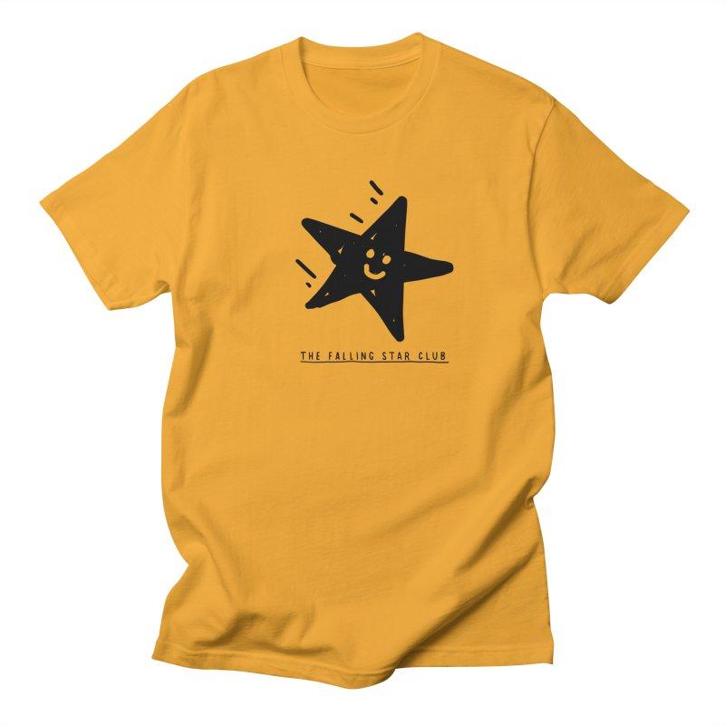The Falling Star Club Men's Regular T-Shirt by Shirt Folk
