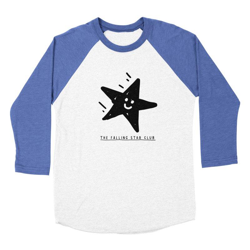 The Falling Star Club Women's Baseball Triblend Longsleeve T-Shirt by Shirt Folk