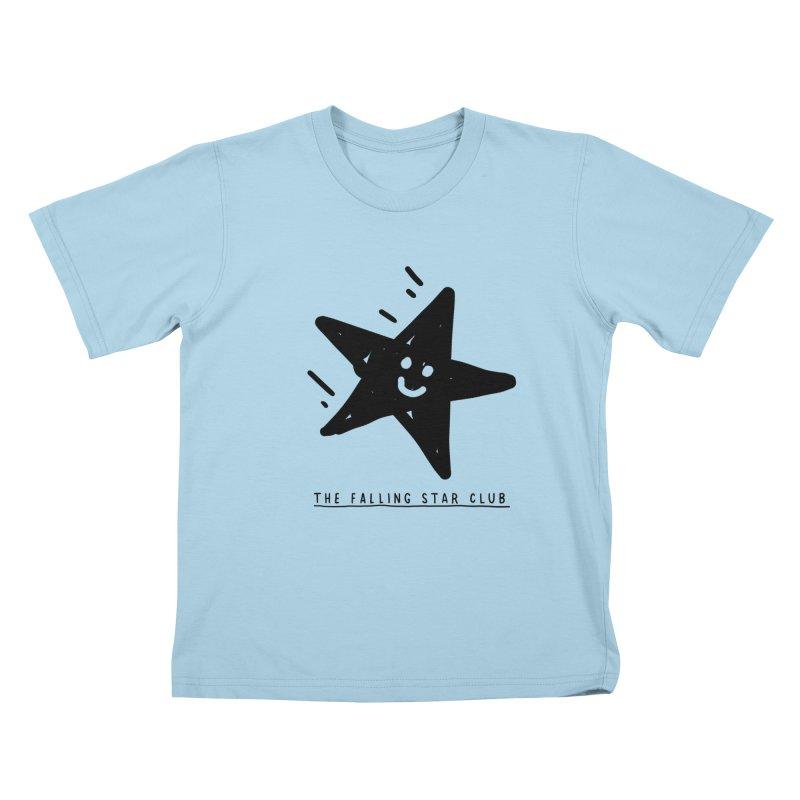 The Falling Star Club Kids T-Shirt by Shirt Folk