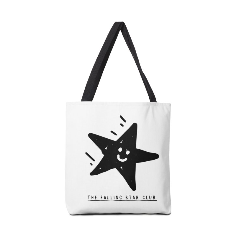The Falling Star Club Accessories Tote Bag Bag by Shirt Folk