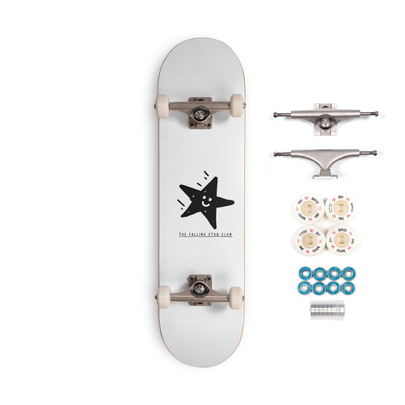 The Falling Star Club Accessories Complete - Premium Skateboard by Shirt Folk