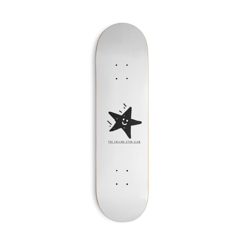 The Falling Star Club Accessories Deck Only Skateboard by Shirt Folk