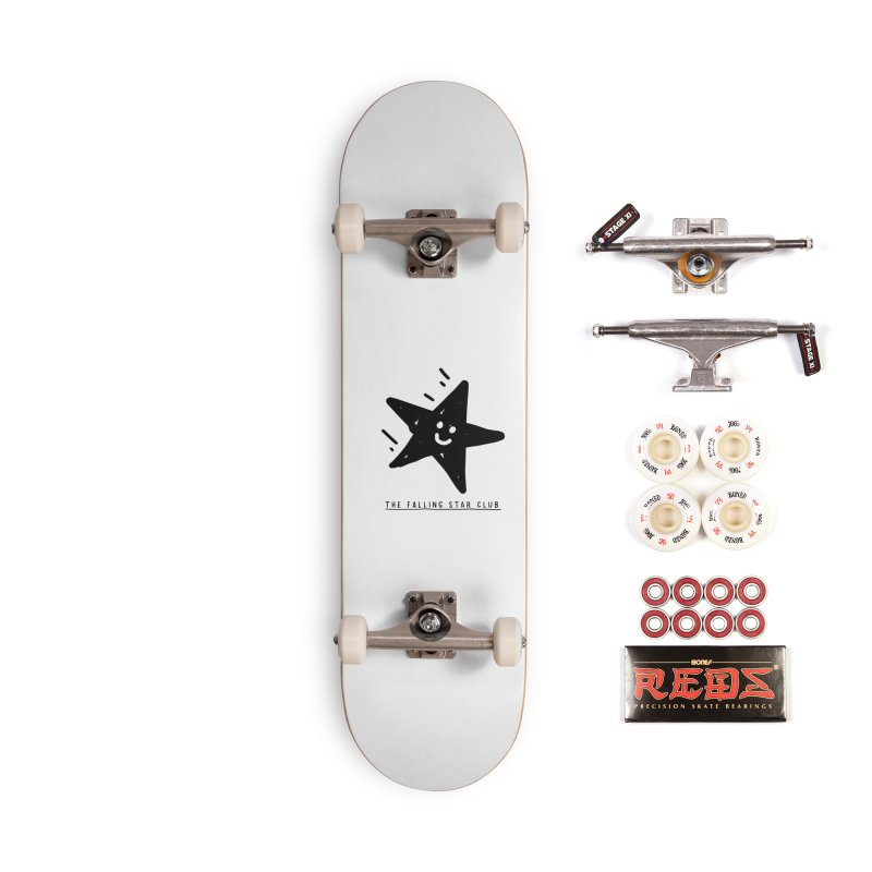 The Falling Star Club Accessories Complete - Pro Skateboard by Shirt Folk