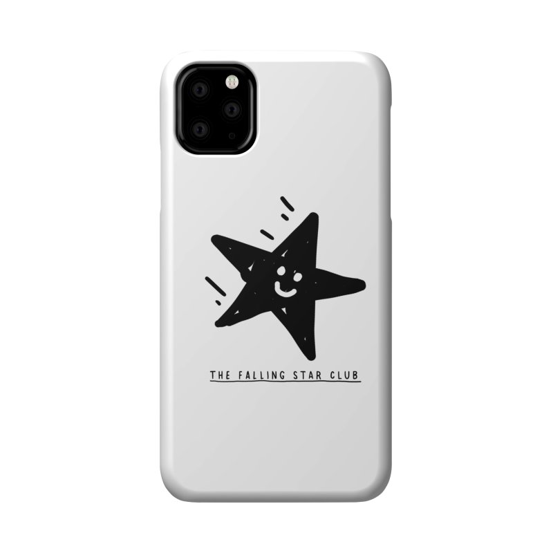 The Falling Star Club Accessories Phone Case by Shirt Folk