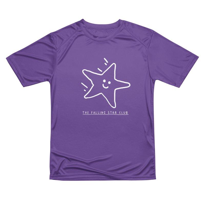 The Falling Star Club: Lights Out Edition Men's Performance T-Shirt by Shirt Folk