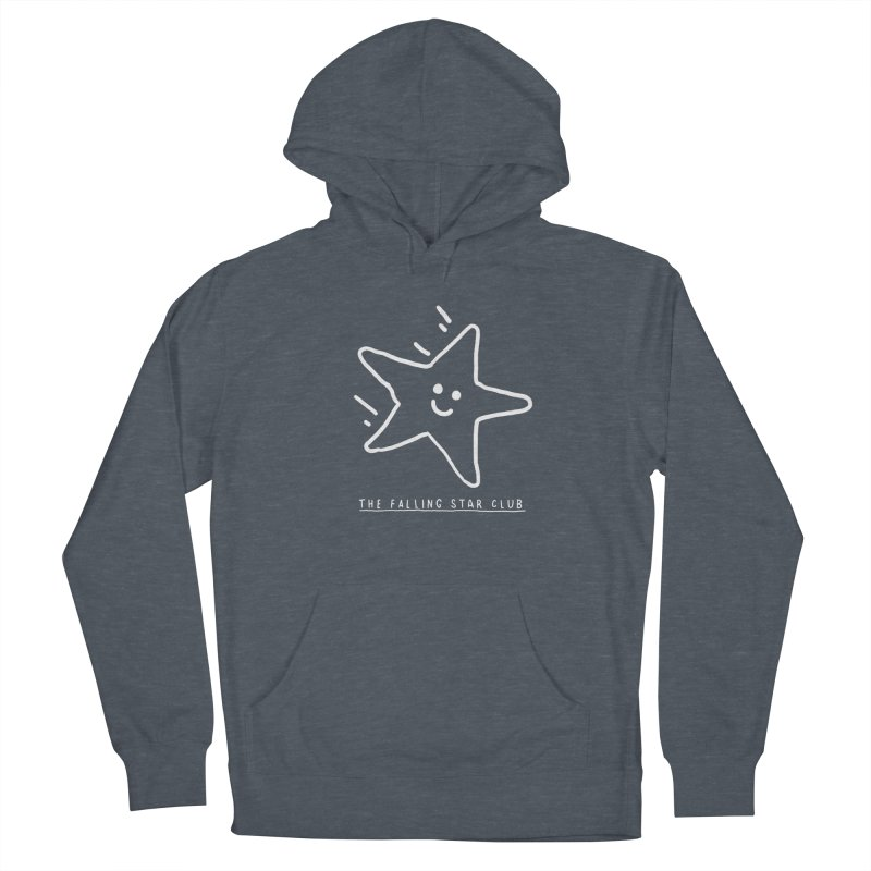 The Falling Star Club: Lights Out Edition Women's French Terry Pullover Hoody by Shirt Folk