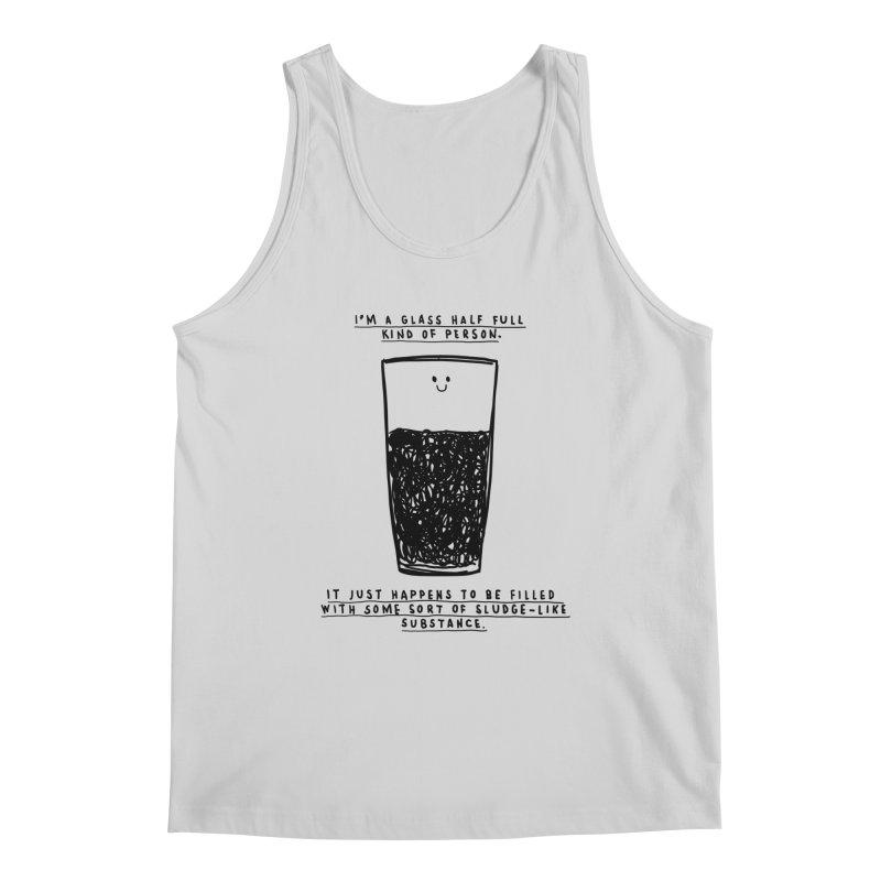 Optimist Men's Regular Tank by Shirt Folk