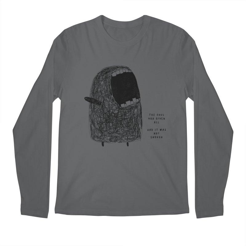 The Spirit Men's Regular Longsleeve T-Shirt by Shirt Folk