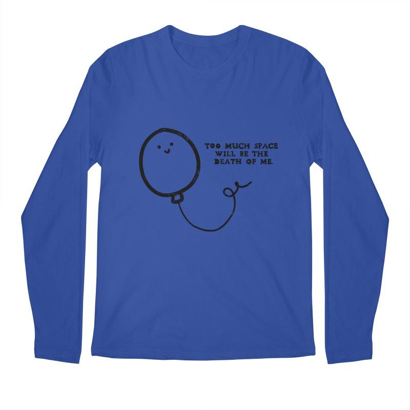 Balloon Death Men's Regular Longsleeve T-Shirt by Shirt Folk