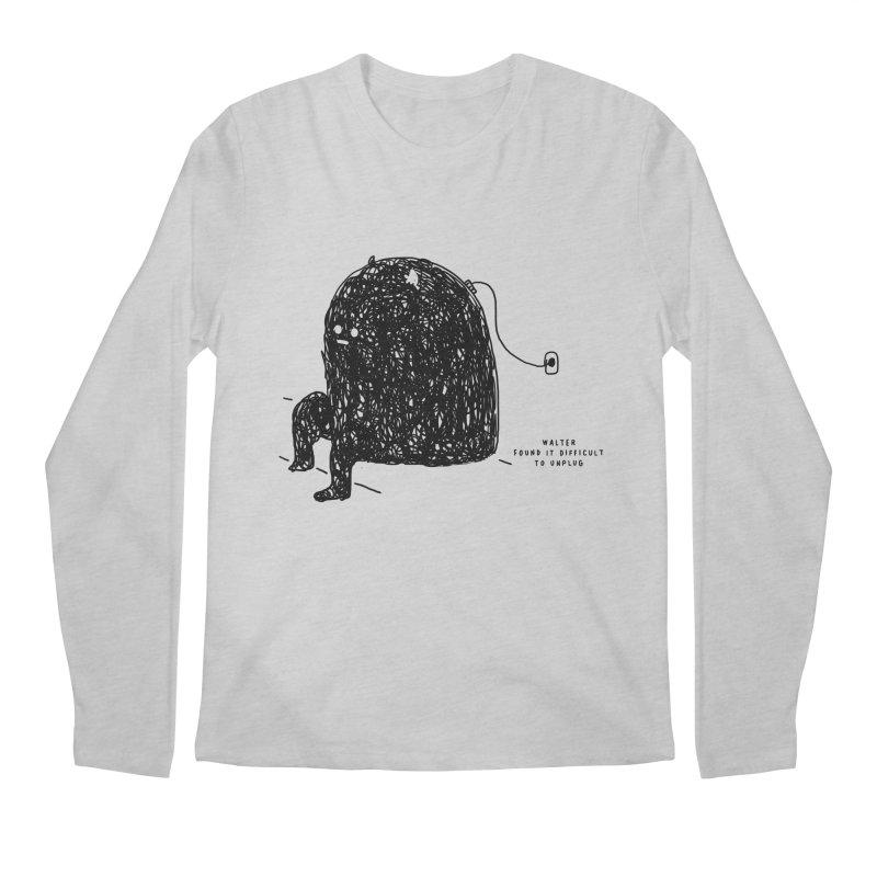 Walter Men's Regular Longsleeve T-Shirt by Shirt Folk