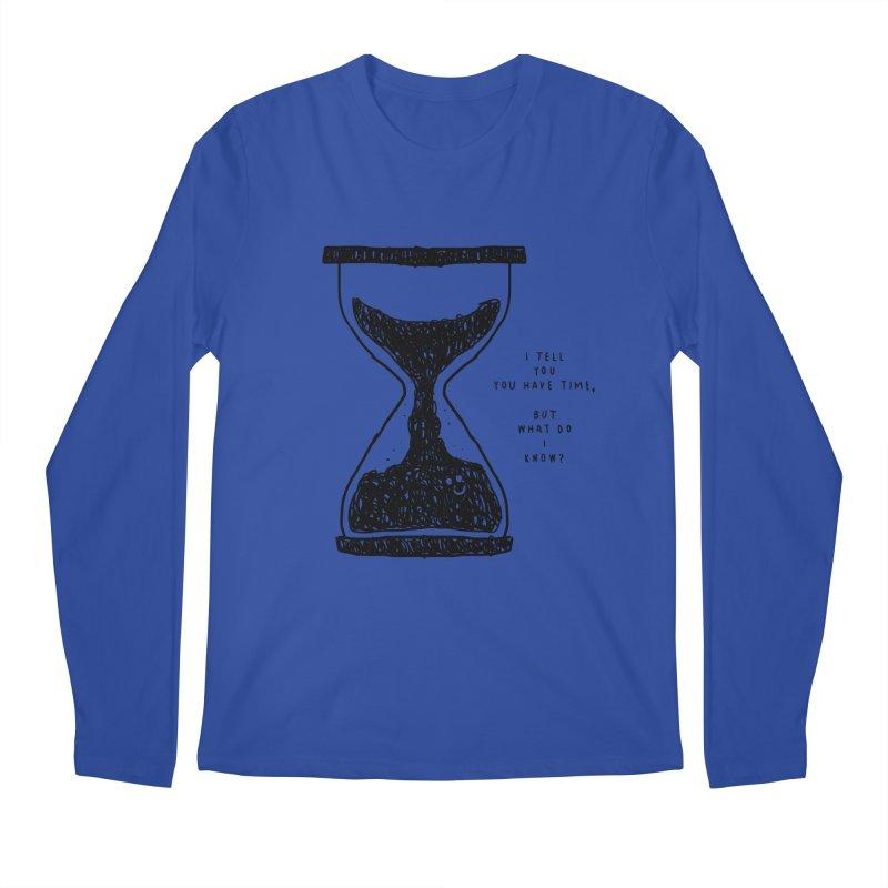 Time Men's Regular Longsleeve T-Shirt by Shirt Folk