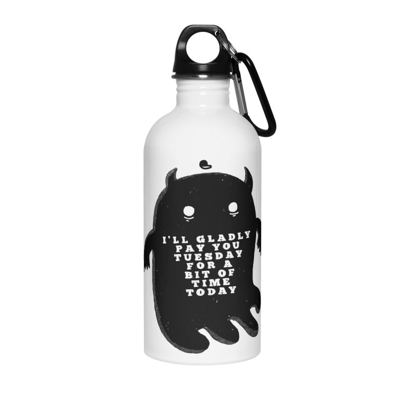 A Bit of Time Accessories Water Bottle by Shirt Folk