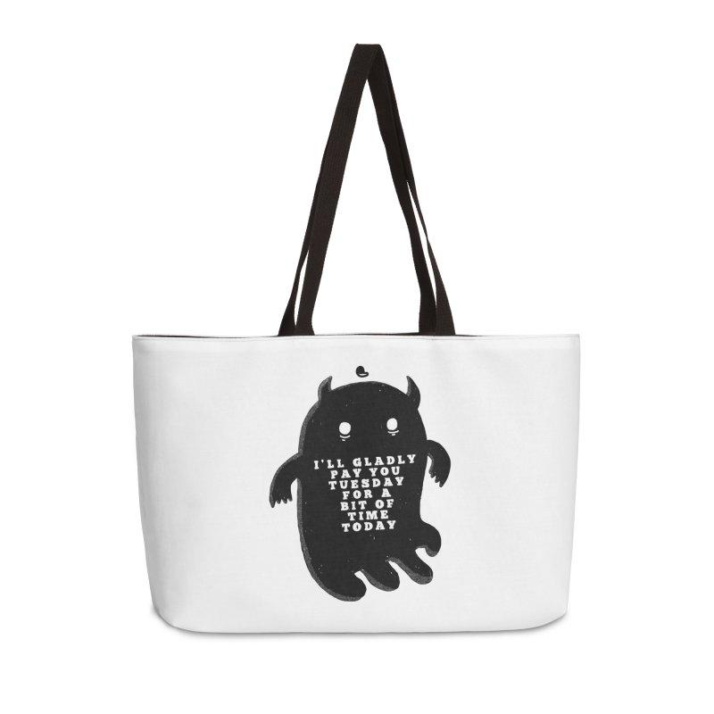 A Bit of Time Accessories Weekender Bag Bag by Shirt Folk