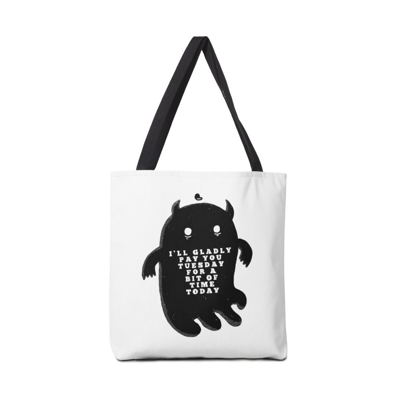 A Bit of Time Accessories Tote Bag Bag by Shirt Folk