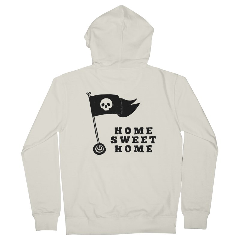 Home Sweet Home Women's French Terry Zip-Up Hoody by Shirt Folk
