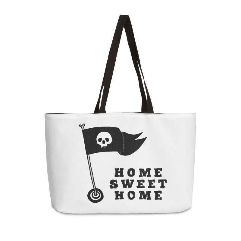 Home Sweet Home Accessories Weekender Bag Bag by Shirt Folk