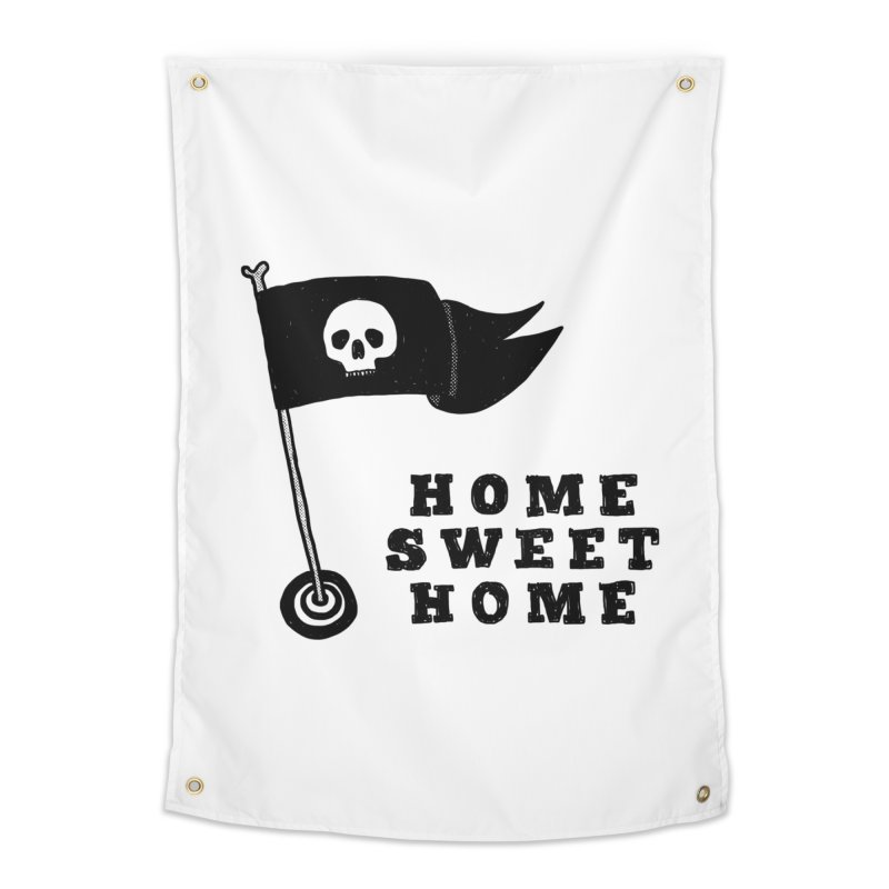 Home Sweet Home Home Tapestry by Shirt Folk