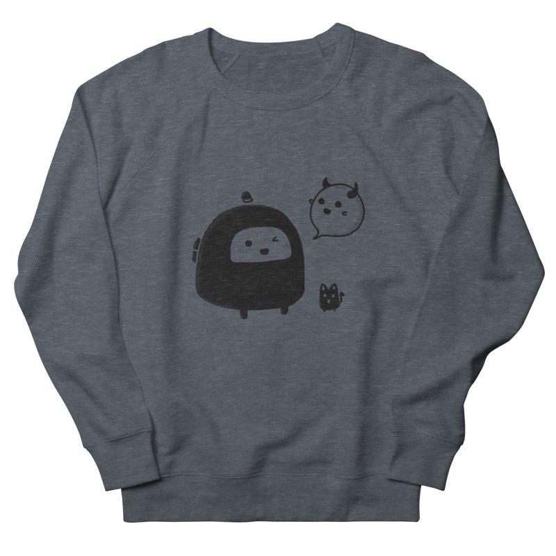 Evil Spirit? Women's French Terry Sweatshirt by Shirt Folk