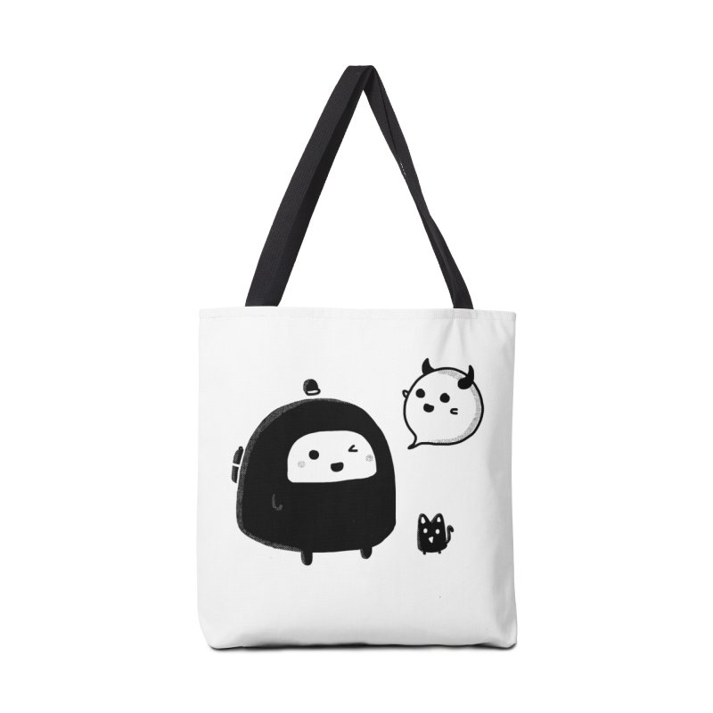 Evil Spirit? Accessories Tote Bag Bag by Shirt Folk