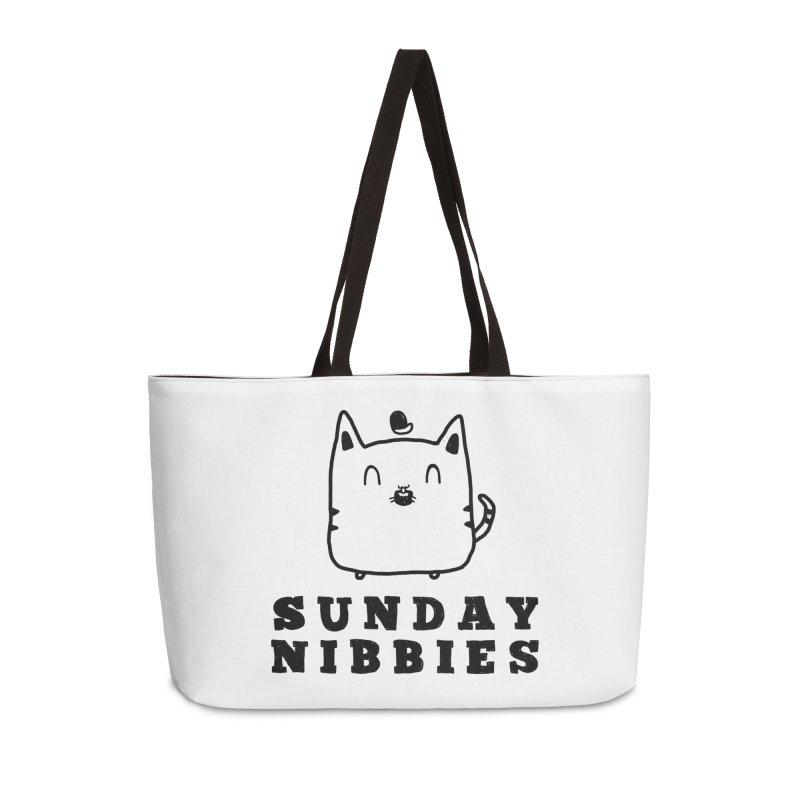 Sunday Nibbies Accessories Weekender Bag Bag by Shirt Folk