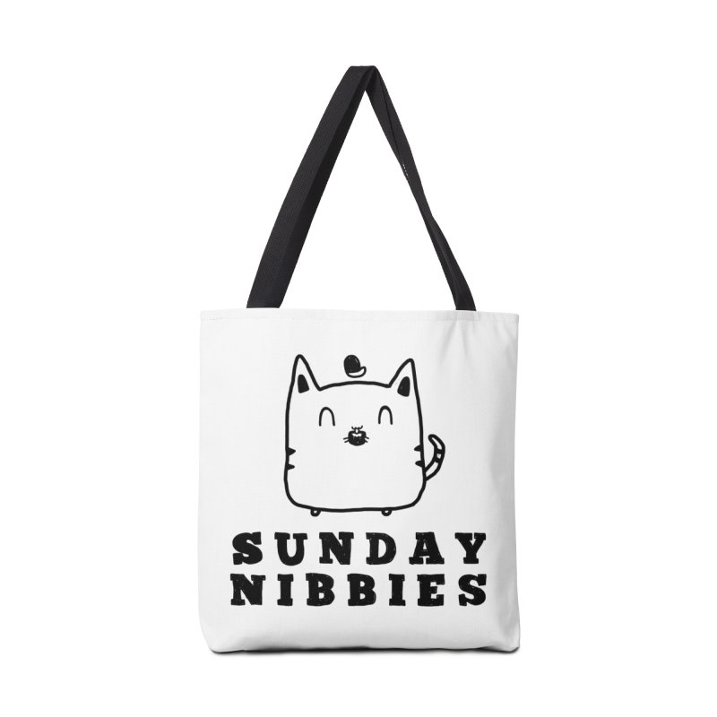 Sunday Nibbies Accessories Tote Bag Bag by Shirt Folk