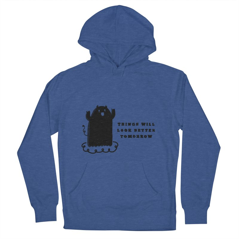 Tomorrow Women's French Terry Pullover Hoody by Shirt Folk