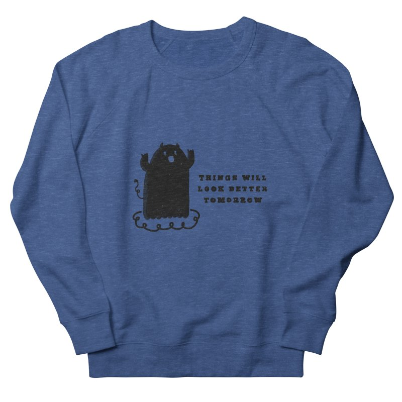 Tomorrow Women's French Terry Sweatshirt by Shirt Folk
