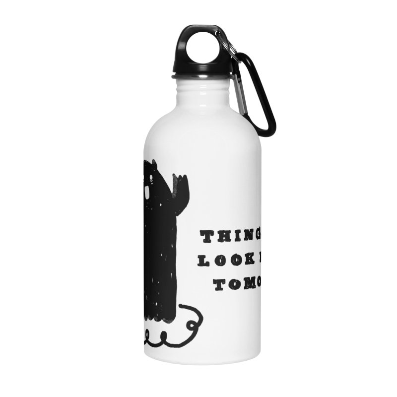 Tomorrow Accessories Water Bottle by Shirt Folk