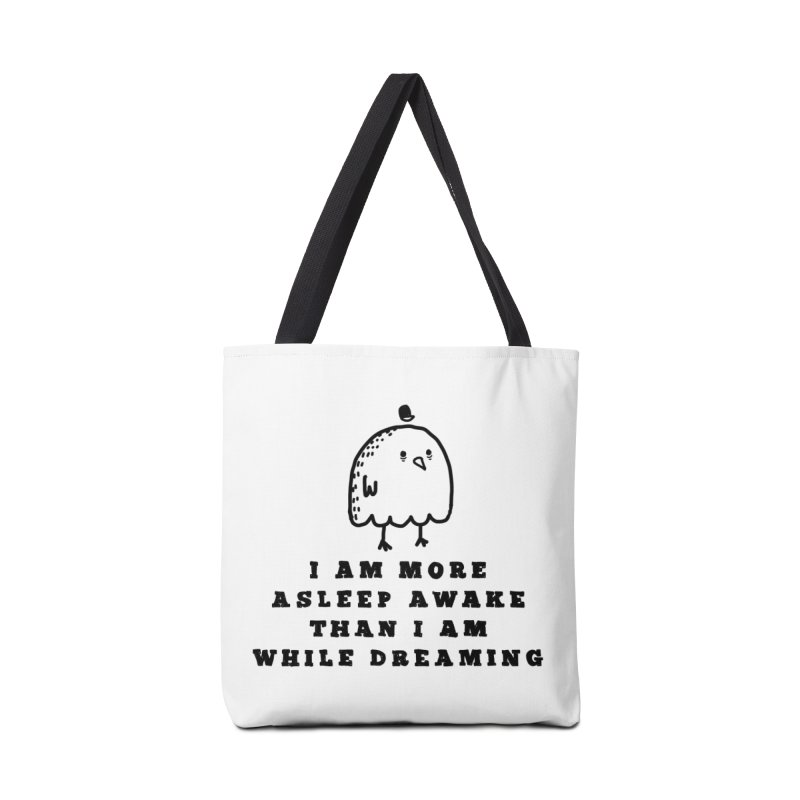 While Dreaming Accessories Tote Bag Bag by Shirt Folk